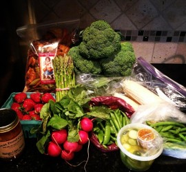 questions and answers which include eating whole food