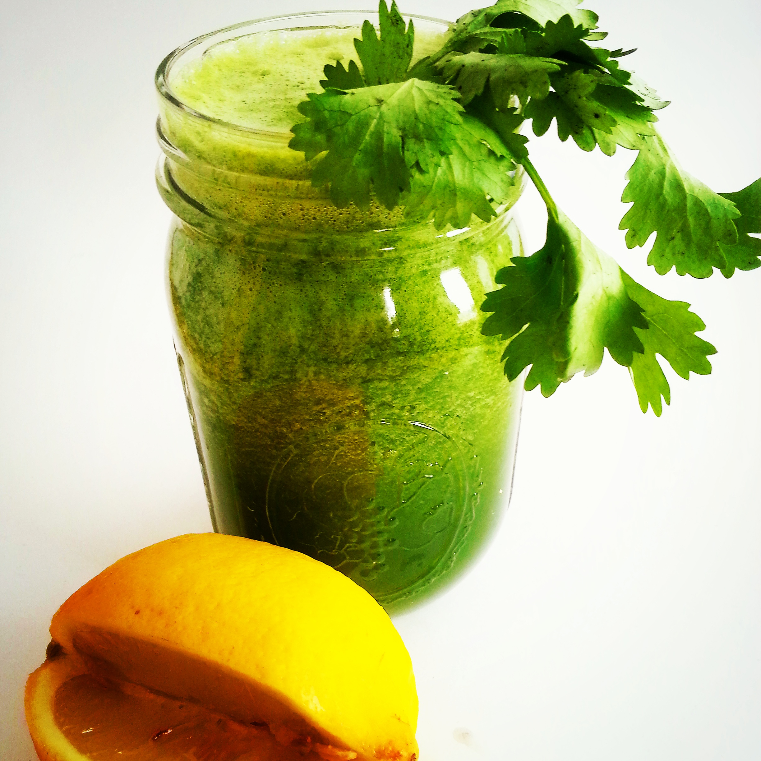 green smoothie for detoxing