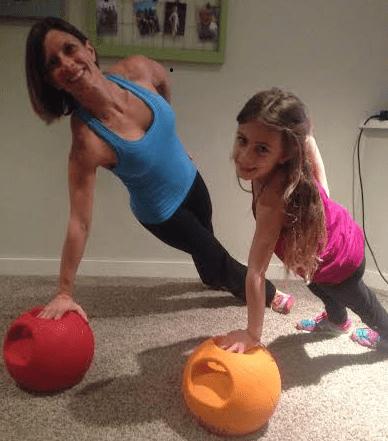 designing a fitness program for kids