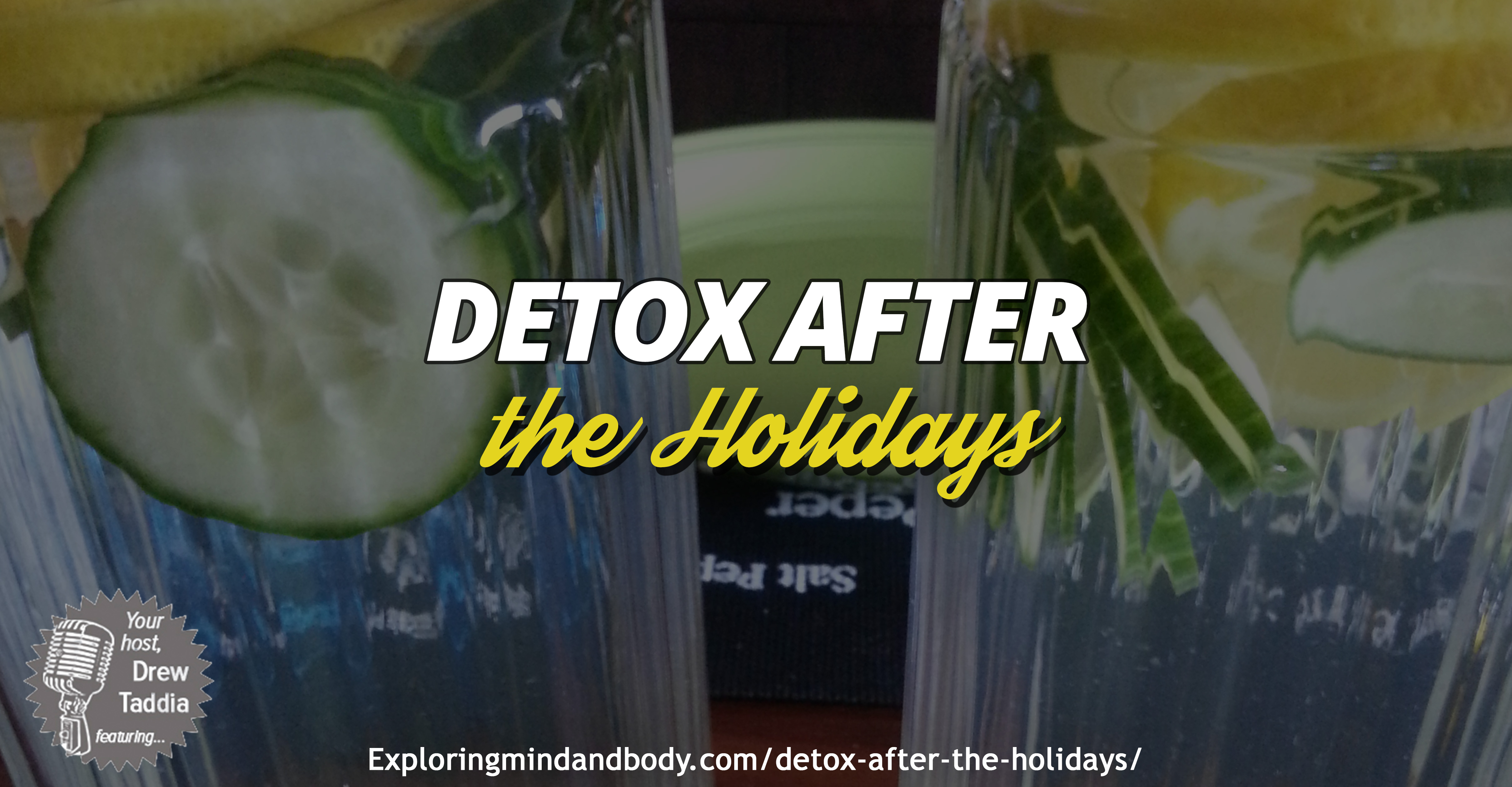 detox after the holidays