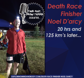 death race finisher noel darcy