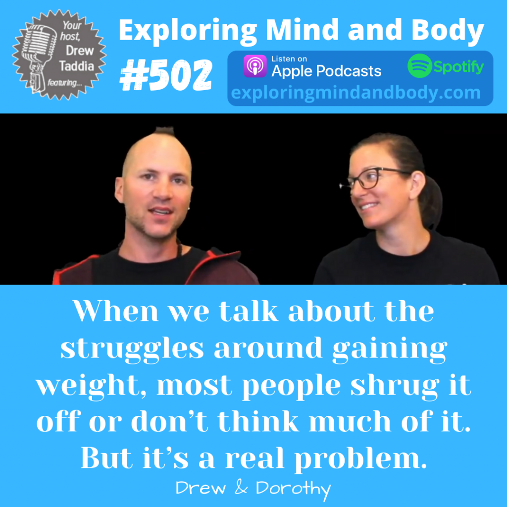 EMB #502: Hard Gainers and how to gain weight