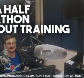 Run a half marathon without training