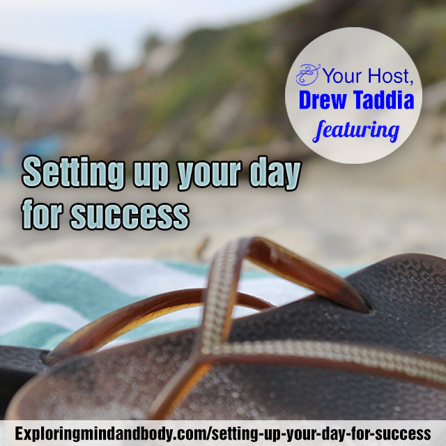 Setting up your day for success-Instagram