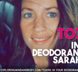 Toxins in your deodorant