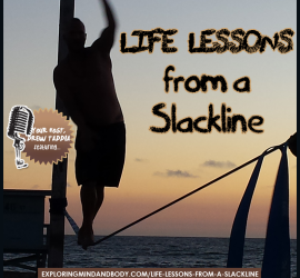 life lessons of a slackline